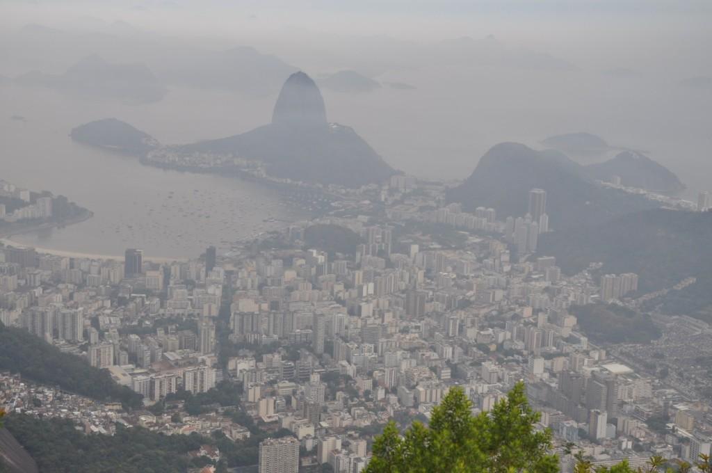 Widok z Corcovado